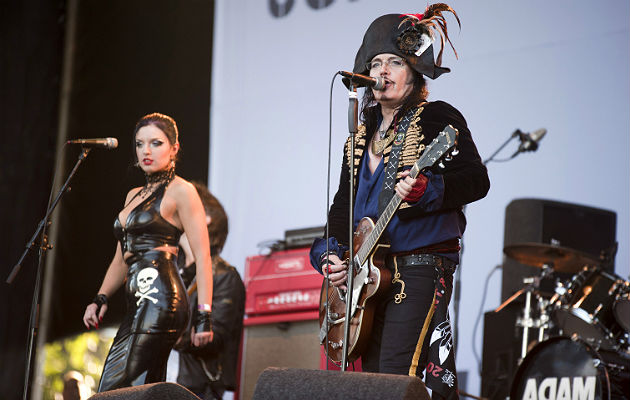 Adam Ant performing