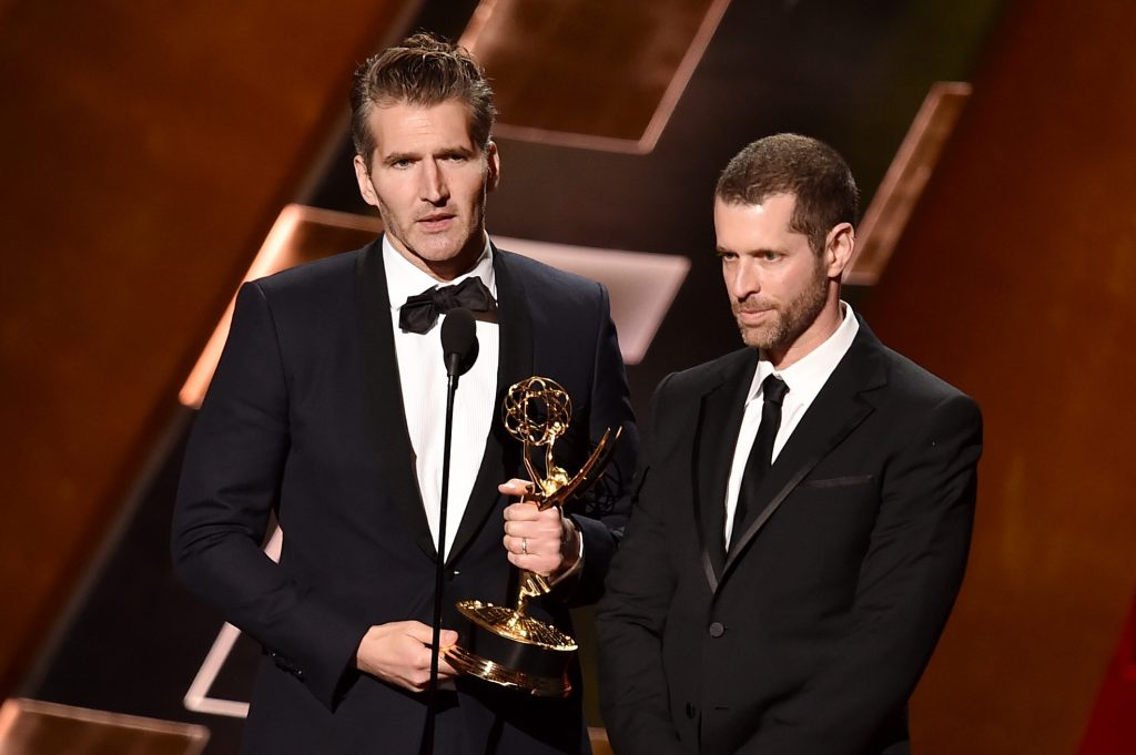 David Benioff and D.B. Weiss, showrunners of Game of Thrones