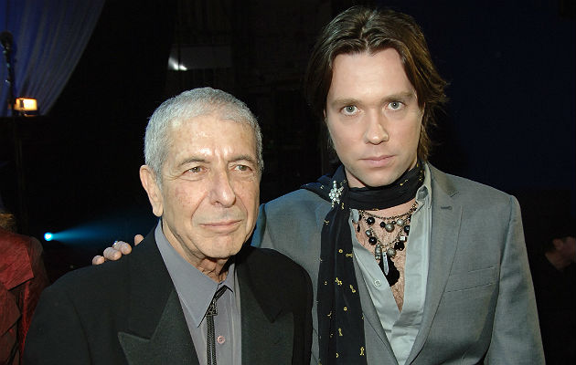 Leonard Cohen and Rufus Wainwright