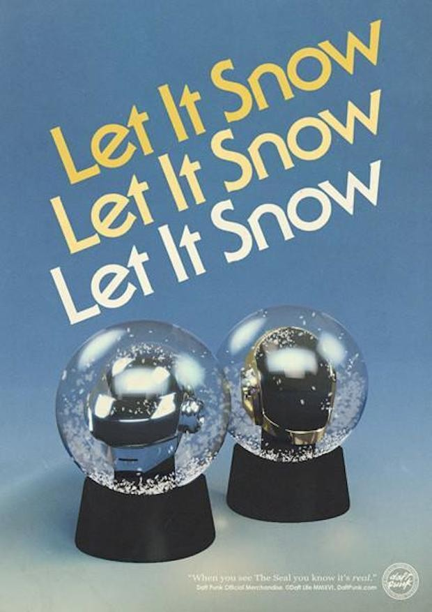 Daft Punk are selling Christmas baubles and snow globes - NME
