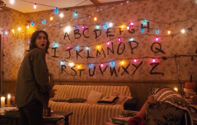 Stranger Things Christmas Lights.Stranger Things Fans Are Buying All The Led Lights From B Q
