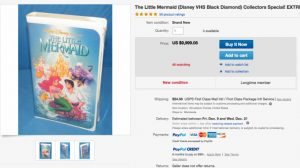 Is your old Disney VHS collection worth a fortune? Cover
