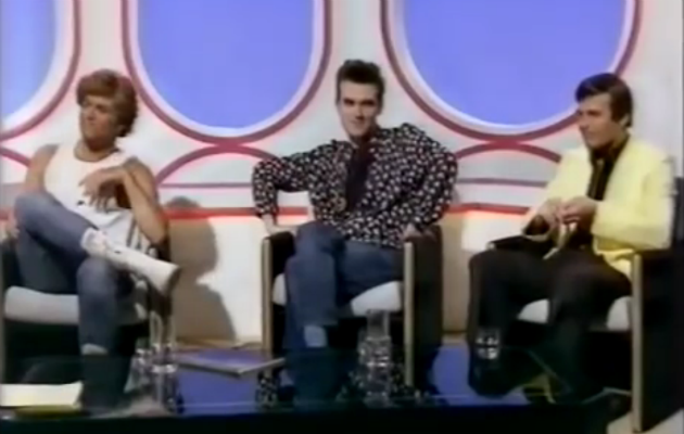 Watch George Michael and Morrissey discuss Joy Division on a 1984 episode of 'Eight Days A Week'