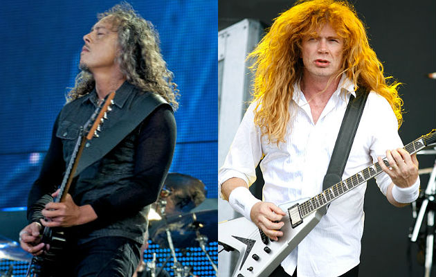metallica and dave mustaine discuss 39 feud 39 and relationship today nme. Black Bedroom Furniture Sets. Home Design Ideas