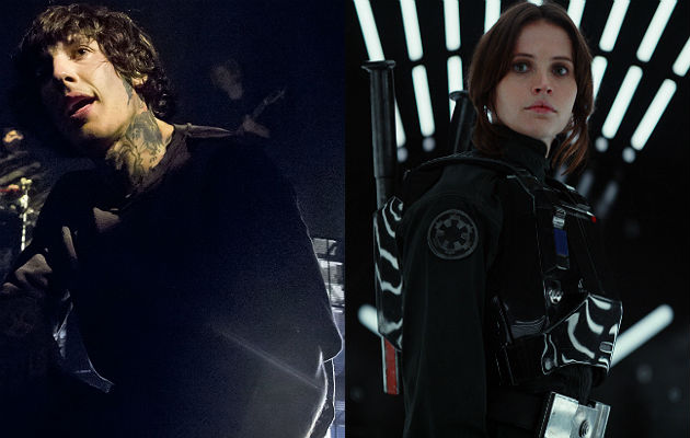 Bring Me The Horizon's Oli Sykes unveils 'Star Wars: Rogue ... Drop Dead Clothing History