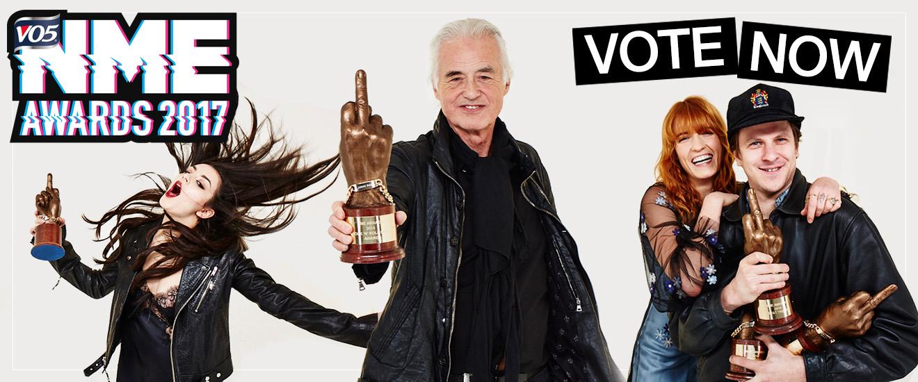 NME Awards Vote Now