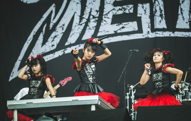 babymetal to support red hot chili peppers on us tour nme. Black Bedroom Furniture Sets. Home Design Ideas