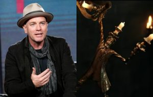 Ewan McGregor's accent was deemed 'too Mexican' to play the French candlestick in 'Beauty And The Beast' Cover