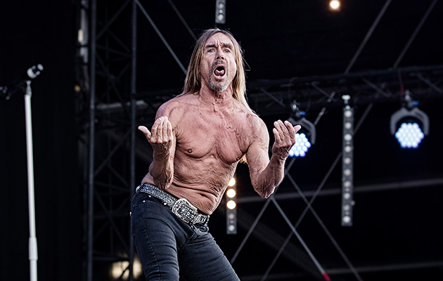 Iggy And The Stooges Jesse Ed Davis PlayBack