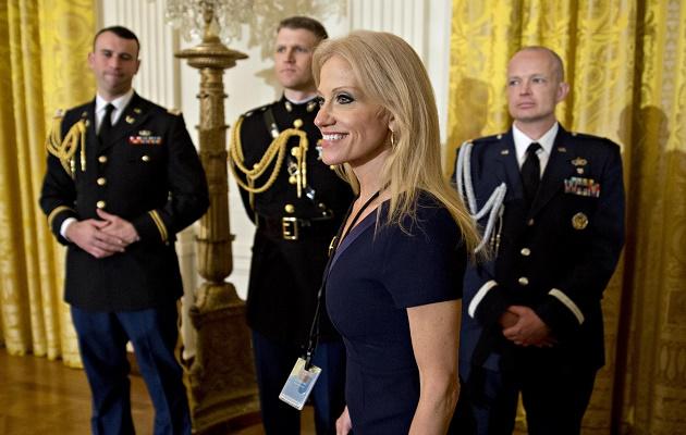 Donald Trump's adviser Kellyanne Conway