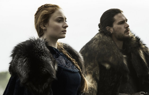 Sansa Stark and Jon Snow, whose differences are expected to cause more tension in Game of Thrones season 7