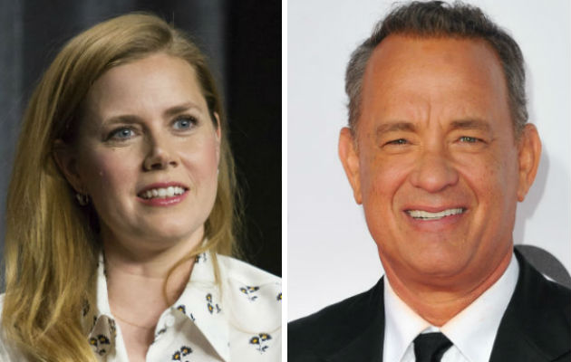 Amy Adams and Tom Hanks were incorrectly listed as nominees
