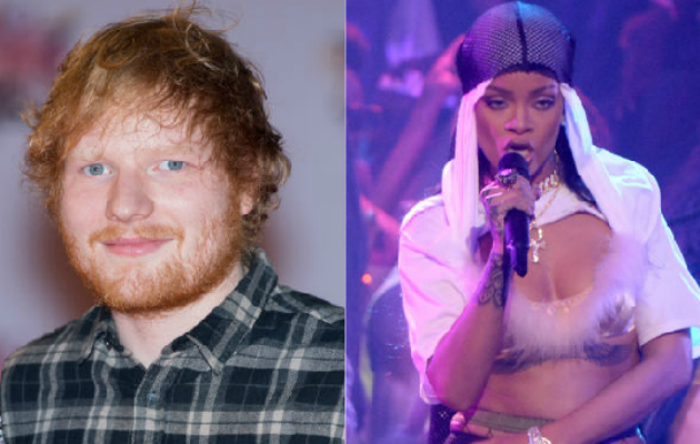 Ed Sheeran says one of his new songs was meant for Rihanna - NME