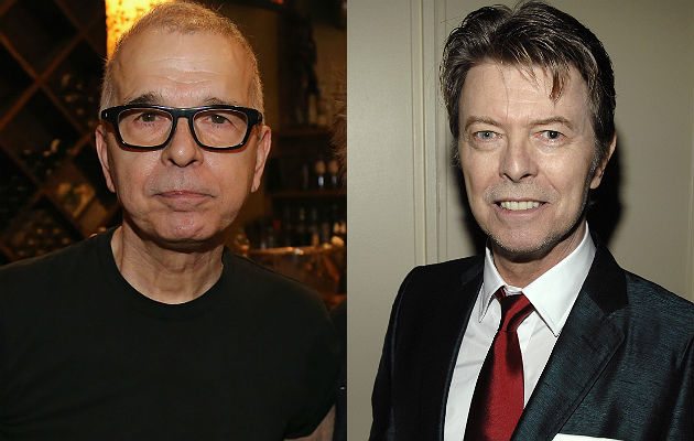 Tony Visconti and David Bowie