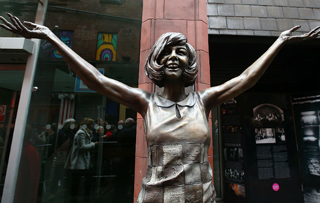 New Cilla Black Statue Unveiled Outside Cavern Club In