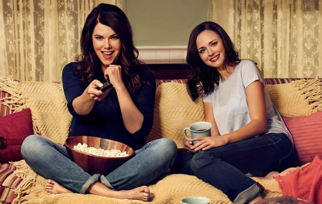 has netflix ordered a new season of 39 gilmore girls 39 nme. Black Bedroom Furniture Sets. Home Design Ideas