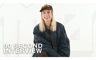 90-second Interview: MØ