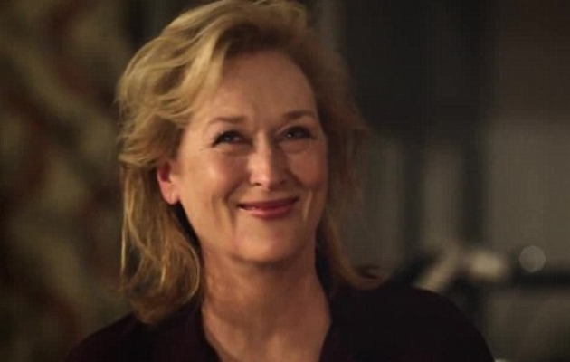 Meryl Streep in Paul McCartney's Queenie Eye video