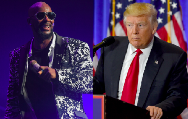 Kelly gives his response to the rumours that he's playing Trump's inauguration