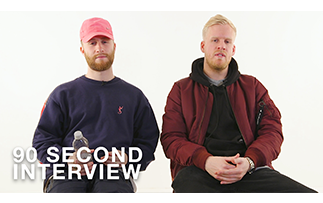 90-second Interview: Snakehips