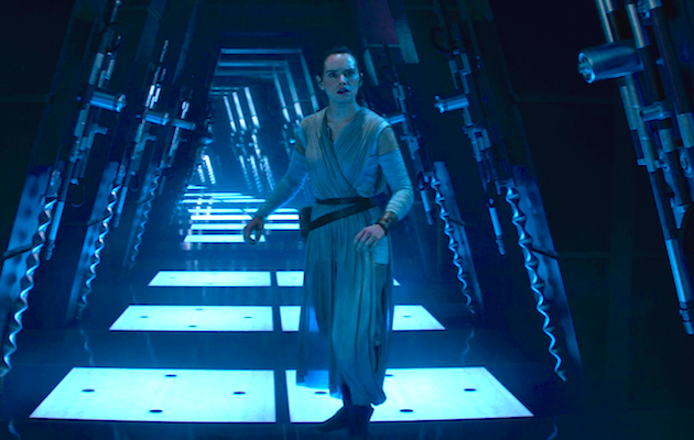 There are many interpretations of Rey's vision in The Force Awakens.