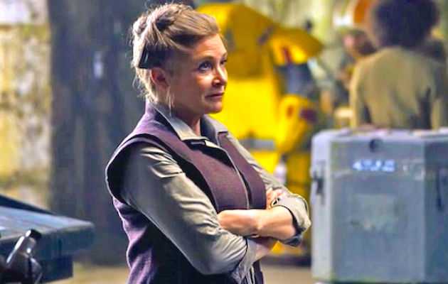 Carrie Fisher will not be digitally recreated in Star Wars: Episode 9.
