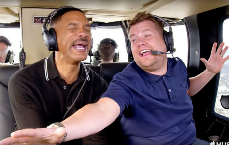 Watch Will Smith And James Corden Rap The Fresh Prince Theme For
