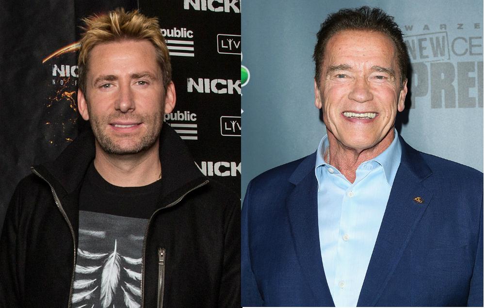 Arnold Schwarzenegger Pokes Fun At Nickelback Band Bite