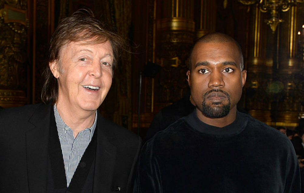 Kanye West Paul McCartney Dirty Projectors Ezra Koenig song