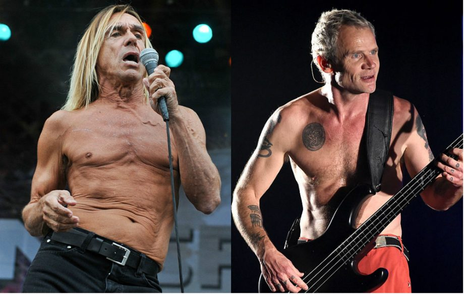 Watch Iggy Pop And Red Hot Chili Peppers Flea In Song To