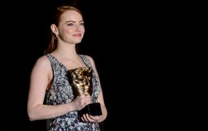 Emma Stone calls for unity as