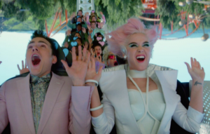 Watch Katy Perry's CGI-filled