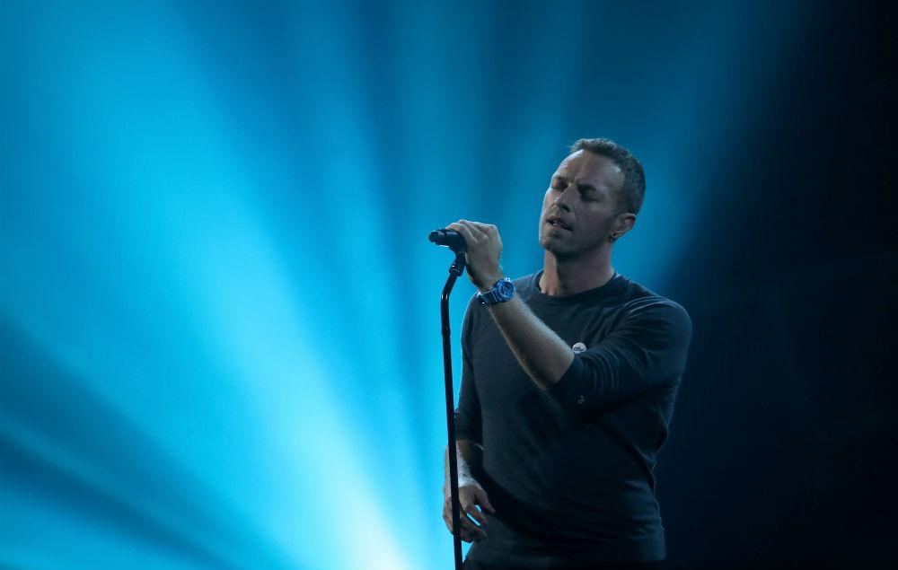 Αφιέρωμα Chris Martin στον George Michael στα British Awards