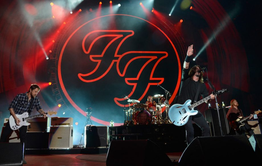 Image result for foo fighters at glastonbury