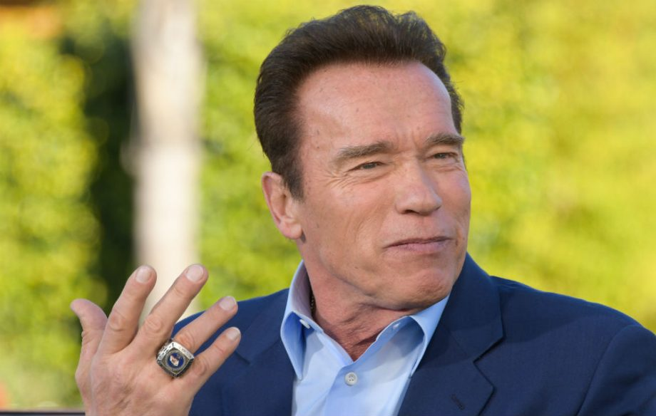 Arnold Schwarzenegger reportedly set for role in new 'Wonder Woman