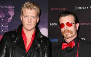 QOTSA's Josh Homme and Eagles of Death Metal's Jesse Hughes