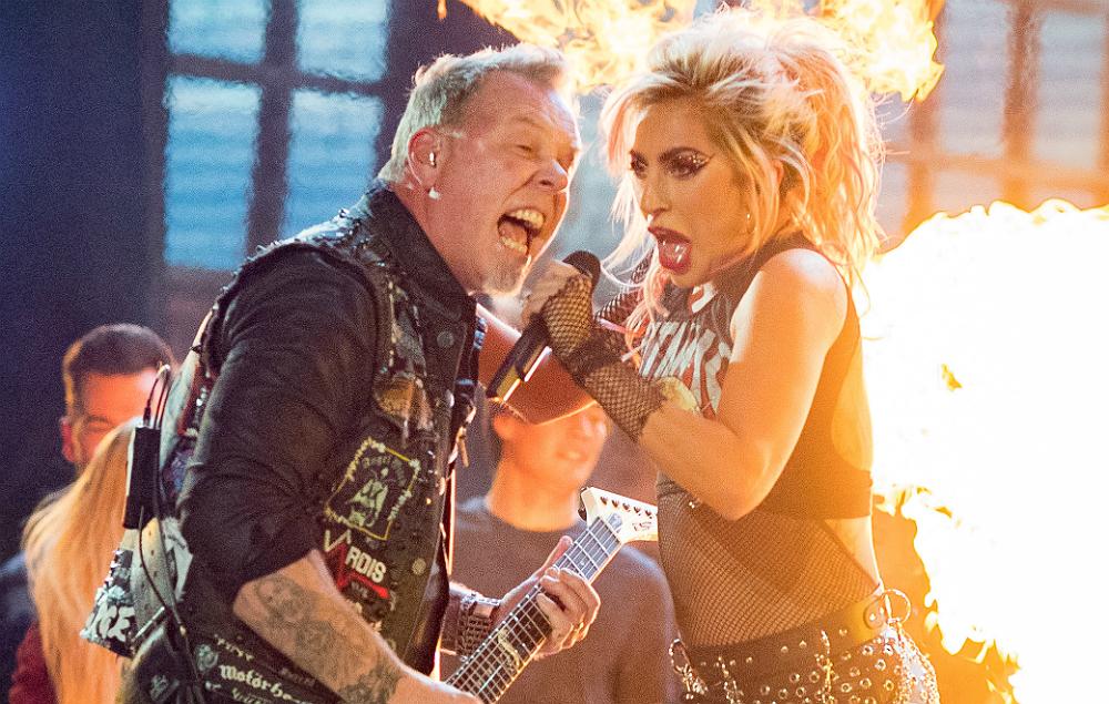 Metallica and Lady Gaga