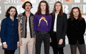 Blossoms at the Brit Awards 2017