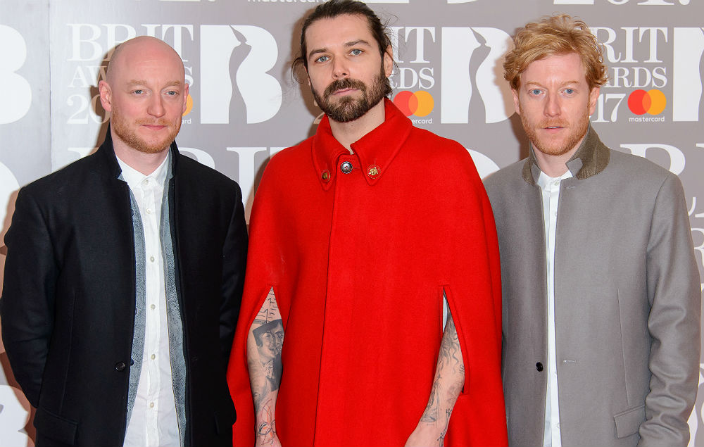 Biffy Clyro at the Brit Awards 2017