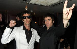 Richard Ashcroft and Liam Gallagher