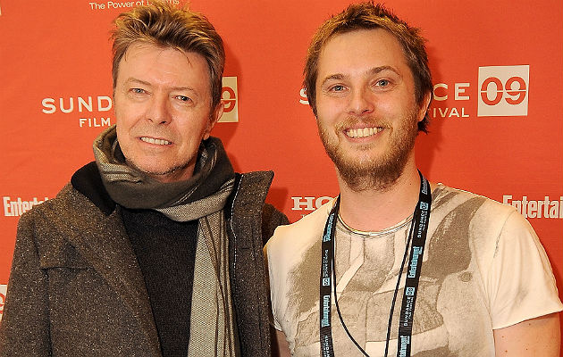 David Bowie and son Duncan Jones