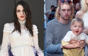 Frances Bean and Kurt Cobain