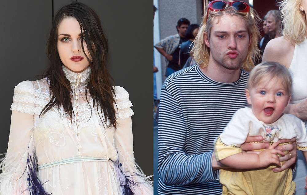 Heres how much frances bean earns from kurt cobains publicity frances bean and kurt cobain freerunsca Images