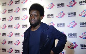 Michael Kiwanuka NME Awards 2017 Red Carpet
