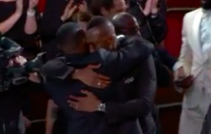 Moonlight cast and crew react to surprise Oscar win