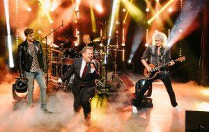 James Corden battles Adam Lambert to become Queen frontman