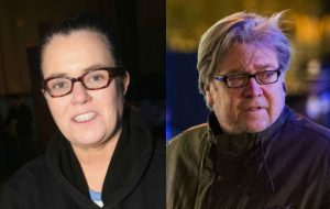 Rosie O'Donnell volunteers to play Steve Bannon on SNL