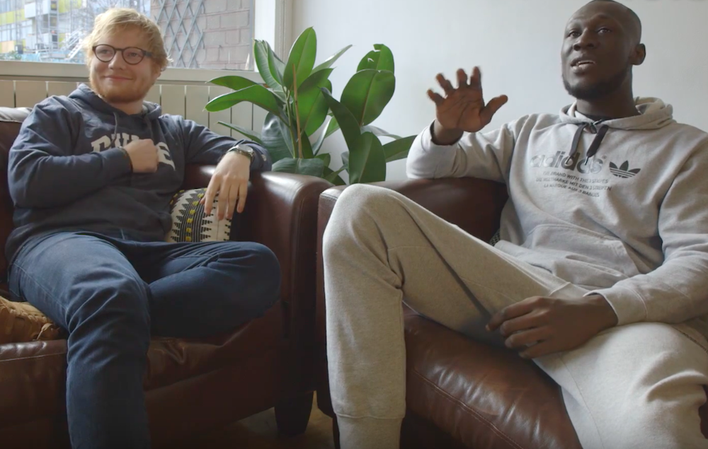 Watch Ed Sheeran And Stormzy Interview Each Other Nme