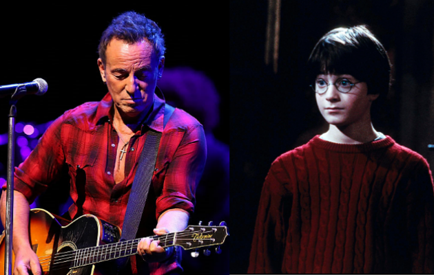 Bruce Springsteen and Harry Potter