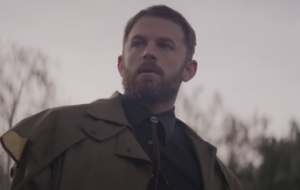Caleb Followill in the video for 'Reverend'